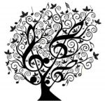 Tree-of-Treble-Clef-Coloring-Page